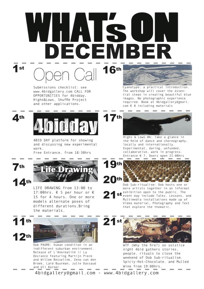 programma december 4bid